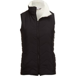 River and Rose Sherpa Lined Puffer Vest - Women's