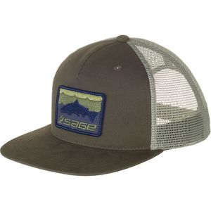 Sage Patch Trucker Hat
