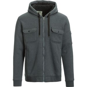 Seven and Oaks Fleece Zip Hoodie Jacket - Men's