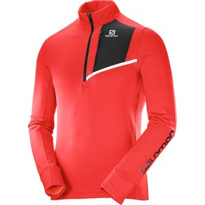 Salomon Fast Wing Mid 1/2-Zip Shirt - Long-Sleeve - Men's