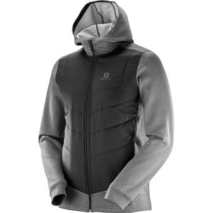 Salomon Pulse Hybrid Hooded Insulated Jacket - Men's