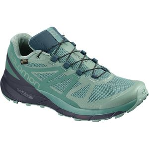 Salomon Sense Ride GTX Invisible Fit Trail Running Shoe - Women's