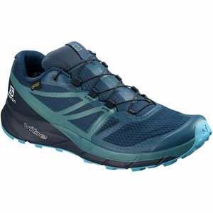 Salomon Sense Ride 2 GTX Invisible Fit Trail Running Shoe - Men's