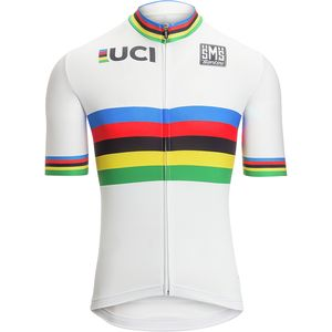 Santini UCI World Champion Short-Sleeve Jersey - Men's