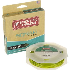 Scientific Anglers Sonar Titan Clear Tip Fly Line