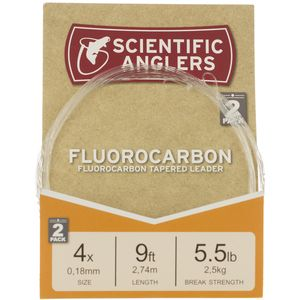 Scientific Anglers Flourocarbon Leader - 2-Pack