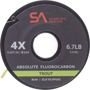 Scientific Anglers Absolute Trout Fluorocarbon Tippet