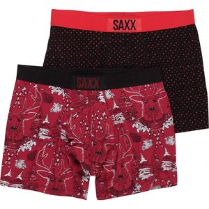 Saxx Vibe Holiday Boxer 2 Pack - Men's