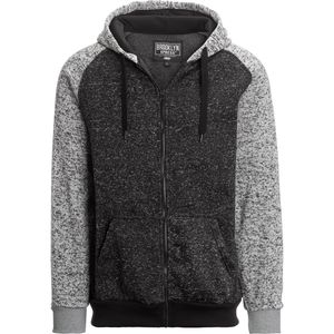 Seena Raglan Full-Zip Fleece Hoodie - Men's