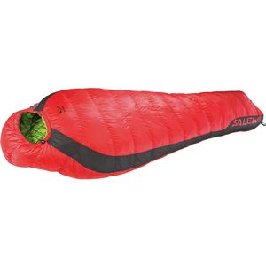 Salewa Fusion Hybrid Sleeping Bag: 17F Degree Synthetic