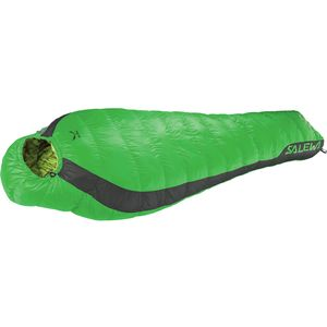 Salewa Fusion Hybrid Sleeping Bag: 28 Degree Synthetic