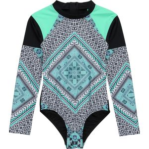 Seafolly  Aztec Tapestry Surf Rashguard - Girls'