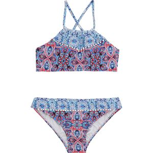 Seafolly  Boho Tile Ruched Neck Tankini - Girls'