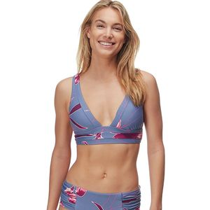 Seafolly  Aralia V Neck Banded Over The Shoulder Bikini Top - Women's