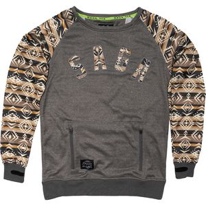 Saga Classic Logo Riding Crewneck Sweater - Men's