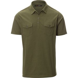 Stoic Outdoorsman Knit Polo Shirt - Men's