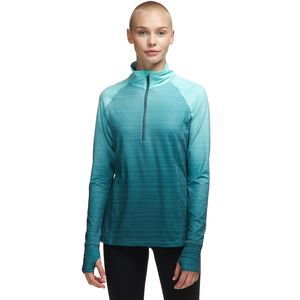 Stoic Ombre 1/2 Zip Performance Top - Women's