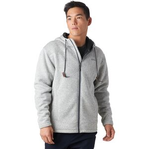Deals on Stoic Sherpa Lined Sweater Fleece Jacket for Mens