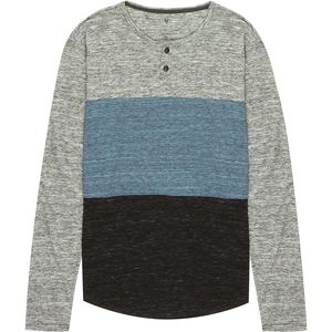 Stoic Echo Colorblock Henley - Men's