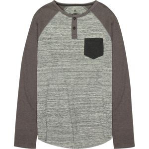 Stoic Hybrid Colorblock Henley - Men's