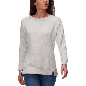 Stoic Shadow Stripe Reversible Sweatshirt - Women's