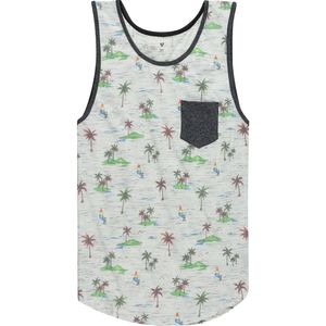 Stoic Aloha Print Tank Top - Men's