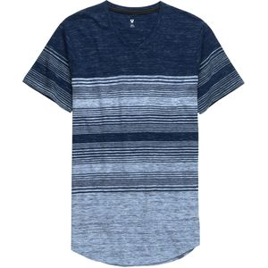 Stoic Ombre Stripe V-Neck T-Shirt - Men's