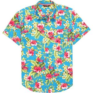 Stoic Blue Hawaiian Shirt - Men's