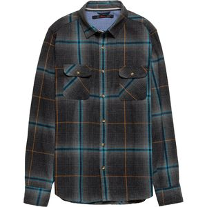 Stoic Blue Mesa Flannel Shirt - Men's