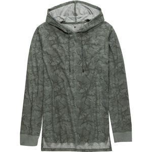 Stoic Lightweight Camo Hooded Henley - Men's