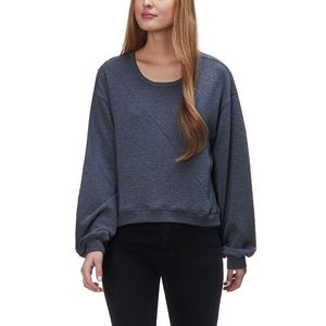 Stoic Texture Knit Scoop Pullover - Women's