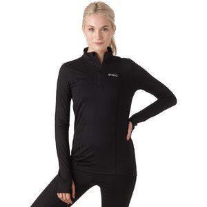 Stoic Merino Blend 1/4 Zip Baselayer Top - Women's