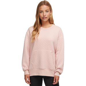 Stoic Diamond Quilted Knit Pullover - Women's