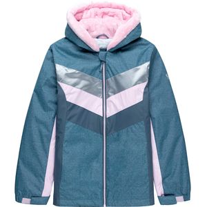 Stoic Retro Chevron Colorblock Fleece Lined Boarder Jacket
