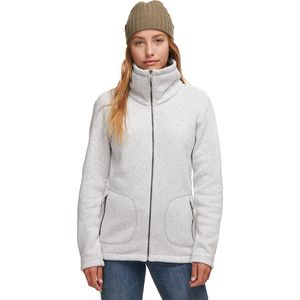 Stoic Funnel Neck Sweater Fleece Jacket - Women's
