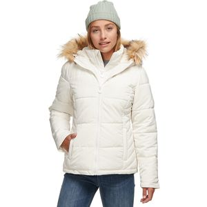 Stoic Sherpa Lined Hooded Puffer Jacket - Women's