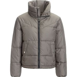 Stoic Printed Cropped Insulated Puffer Jacket - Women's thumbnail