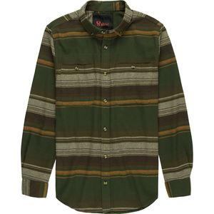 Stoic Adventure Long-Sleeve Button-Down Flannel - Men's