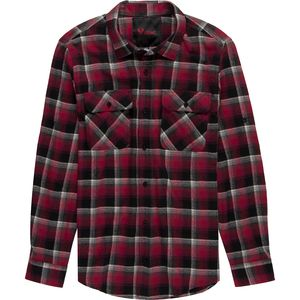 Stoic Plaid Twill Long-Sleeve Button-Up Shirt - Men's