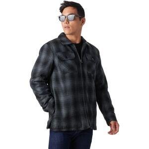 Stoic Buffalo Plaid Sherpa-Lined Shirt Jacket - Men's