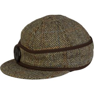 Stormy Kromer Mercantile Harris Tweed Button Up Cap - Women's