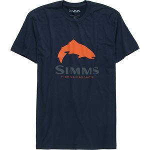 Simms Logo T-Shirt - Men's
