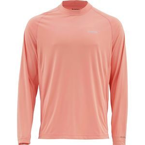 Simms SolarFlex Solid Long-Sleeve Crew Shirt - Men's