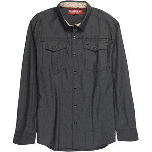 Simms Stillwater Chambray Long-Sleeve Shirt - Men's