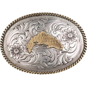 Simms Trout Belt Buckle