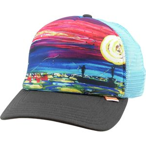 Simms Dripping Trees Artist Foam Trucker Hat