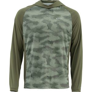 Simms Solarflex Hooded Print Shirt - Men's