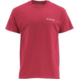 Simms Woodblock Redfish Short-Sleeve T-Shirt - Men's