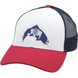 Simms Wyoming Patch Trucker Hat