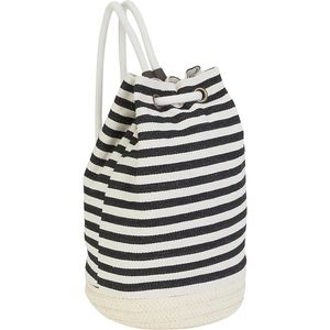 Sun N Sand Stripe Backpack with Drawstring - Women's